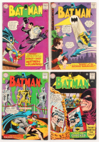 "Lot of (4) 1965 ""Batman"" DC Comic Books with #169, #170, #172, & #173"