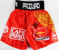 "Manny ""Pacman"" Pacquiao Signed Nike Boxing Trunks (PSA COA)"