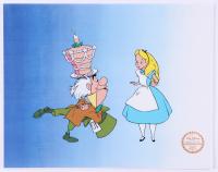 "Walt Disney Goofy ""Alice in Wonderland"" 11x14 Animation Serigraph"