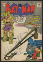 "1959 DC ""Batman"" Issue #127 Comic Book"