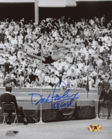 "Dick Fosbury Signed Team USA 8x10 Photo Inscribed ""68 Gold"" (MAB Hologram)"