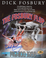 Dick Fosbury Signed Team USA 8x10 Photo (MAB Hologram)