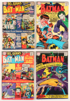"Lot of (4) 1964 ""Batman"" #185-#188 DC Comic Books"