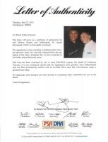 Muhammad Ali & Mickey Mantle Signed 16x20 Photo (PSA LOA) at PristineAuction.com