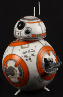 "Brian Herring Signed Disney ""Star Wars: The Force Awakens"" Big-Figs Deluxe 18"" Custom Hand-Painted BB-8 Figure Inscribed ""Keep Rolling"" & ""BB-8"" with Hand-Drawn BB-8 Sketch - 1/1 (PA COA)"