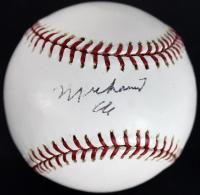 Muhammad Ali Signed 2003 World Series Baseball (JSA LOA)