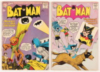 "Lot of (2) 1960 ""Batman"" DC Comic Books with #133 & #135"