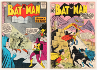 "Lot of (2) 1961 ""Batman"" DC Comic Books with #137 & #142"