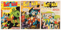 "Lot of (3) 1962-63 ""Batman"" DC Comic Books with #151, #152, & #154"