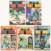 """Lot of (5) 1975 """"Batman"""" #260-#264 DC Comic Books"""