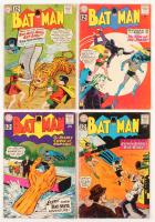 """Lot of (4) 1961-62 """"Batman"""" #144-#147 DC Comic Books"""