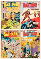 "Lot of (4) 1963-64 ""Batman"" DC Comic Books with #158, #159, #162, & #163"