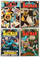 """Lot of (4) 1969 """"Batman"""" #210-#213 DC Comic Books"""