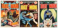 """Lot of (3) 1972 """"Batman"""" #242-#244 DC Comic Books"""