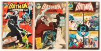 "Lot of (3) 1971 ""Batman"" DC Comic Books with #233, #236, & #237"