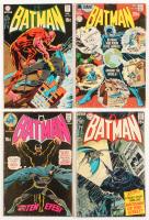 """Lot of (4) 1970 """"Batman"""" #223-#226 DC Comic Books"""