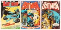 """Lot of (3) 1970 """"Batman"""" #219-#221 DC Comic Books"""