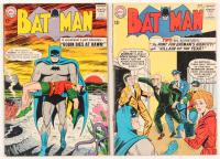 "Lot of (2) 1963 ""Batman"" DC Comic Books with #156 & #157"