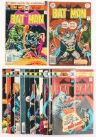 """Lot of (14) 1975-76 """"Batman"""" #265-#281 DC Comic Books"""