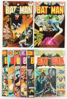 """Lot of (8) 1973-74 """"Batman"""" #252-#259 DC Comic Books"""