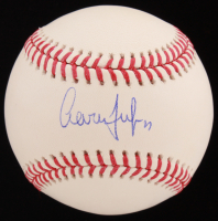 Aaron Judge Signed OML Baseball (PSA COA)