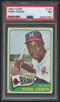1965 Topps #170 Hank Aaron (PSA 7) at PristineAuction.com