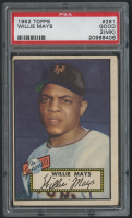 1952 Topps #261 Willie Mays (PSA 2) (MK) at PristineAuction.com