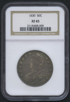 1830 50¢ Capped Bust Half Dollar (NGC XF 45)