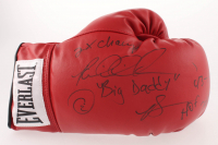Riddick Bowe Signed Everlast Boxing Glove with (5) Inscriptions (JSA COA) at PristineAuction.com