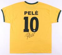 Pele Signed Team Brazil Jersey (PSA COA)