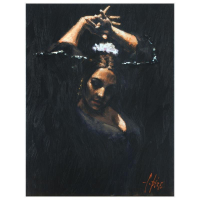 """Fabian Perez Signed """"Duende"""" Hand Textured Limited Edition 26x20 Giclee on Canvas AP #11/35 at PristineAuction.com"""