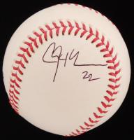 Clayton Kershaw Signed OML Baseball (PSA COA)