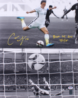 "Carli Lloyd Signed Team USA 16x20 Photo Inscribed ""Best WC Goal 7/5/15"" (PSA COA & Lloyd Hologram)"