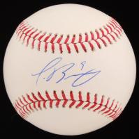 Javier Baez Signed OML Baseball (PSA COA)