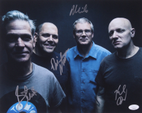 The Descendents 11x14 Photo Signed by (4) with Milo Aukerman, Bill Stevenson, Karl Alvarez & Stephen Egerton (JSA COA)