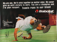 Andy Roddick Signed 23.5x31.5 Poster (Palm Beach Hologram)