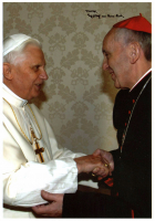 "Pope Francis Signed 5x8 Photo Inscribed ""Erzbischof von Buenos Aires"" (Beckett LOA)"