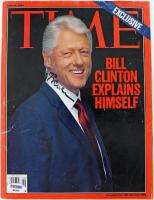 Bill Clinton Signed 2004 Time Magazine (PSA LOA)