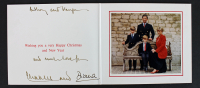 Princess Diana & Prince Charles Signed 1991 Christmas Card with Inscription (PSA LOA)