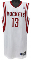 James Harden Signed Game-Used Houston Rockets Adidas Jersey (JSA LOA) at PristineAuction.com