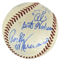 "Rocky Marciano Signed Baseball Inscribed ""Best Wishes"" (JSA LOA)"