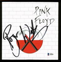 "Roger Waters Signed Pink Floyd ""Run Like Hell"" Vinyl Record Album (Beckett LOA)"
