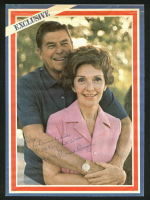 "Ronald Reagan & Nancy Reagan Signed 8x11 Magazine Photo Inscribed ""With Very Best Wishes"" (JSA LOA)"
