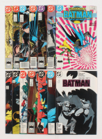 "Lot of (14) 1987-1989 DC ""Batman"" Comic Books Issues with #407, #422, #423, #415, #419, #421 at PristineAuction.com"