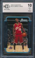 2003-04 Bowman #123 LeBron James RC (BCCG 10) at PristineAuction.com