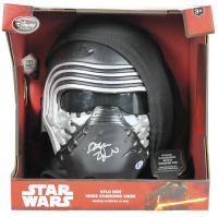 "Adam Driver Signed ""Star Wars: The Force Awakens"" Kylo Ren Mask (Beckett COA)"