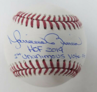 "Mariano Rivera Signed Limited Edition OML Baseball Inscribed ""HOF 2019"" & ""1st Unanimous Vote"" (Steiner Hologram) at PristineAuction.com"