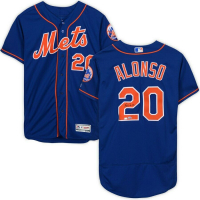 Pete Alonso Signed New York Mets Jersey (Fanatics Hologram) at PristineAuction.com