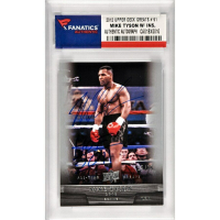 Mike Tyson Signed 2012 Upper Deck All-Time Greats #91 (Fanatics Encapsulated) at PristineAuction.com