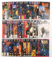 """Lot of (50) 1992-1996 DC """"Batman Shadow Of The Bat"""" Comic Books Issues with #38, 34, #27, #51, #13"""